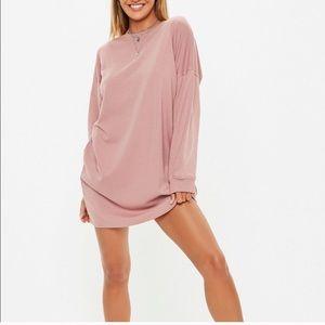 ASOS Missguided oversized sweatshirt dress US 4 S